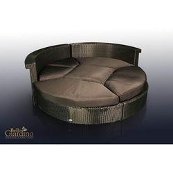 Łóżko ogrodowe RICCO czarne (LO.001.007)
