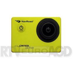 Kamera NavRoad myCAM 4K ACTIVE KAMERA SPORTOWA YELLOW - NAVROAD myCAM 4K ACTIVE YELLOW - NAVROAD myCAM 4K ACTI