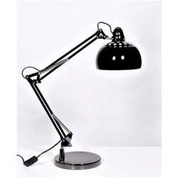 Lumina deco Lampa biurkowa czarna rigorria