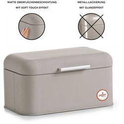 Metalowy chlebak rubber, pojemnik na pieczywo, 31x21x15 cm, marki Zeller