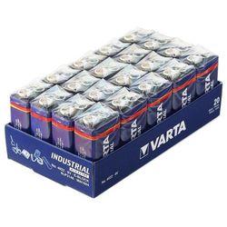 20x bateria alkaliczna Varta Industrial 6LR61/9V 4022 (taca) - produkt z kategorii- Baterie