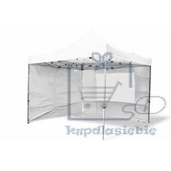 Pawilon ogrodowy PROFI rozkładany 3 x 3 m - biały, 4 ściany (4025379982296)