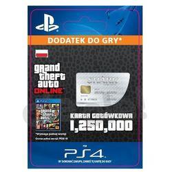 Grand theft auto v karta gotówkowa gws [kod aktywacyjny], marki Sony