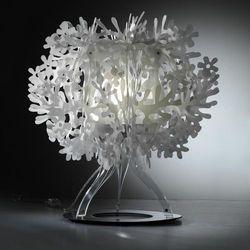 FIORELLA - Lampa stojąca Biały Ø33cm (8024727038841)