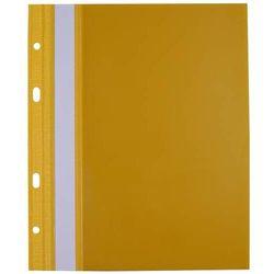 Skoroszyt Biurfol PP twardy z wąsami wpinany, format A5, żółty - Super Ceny - Rabaty - Autoryzowana dystrybucja - Szybka dostawa - Hurt, skk1810019