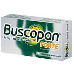 Buscopan Forte 20mg x 10 tabletek (artykuł z kategorii Leki na wzdęcia)