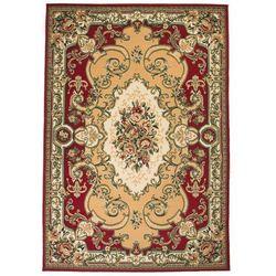Vidaxl Orientalny dywan, perski wzór, 120x170 cm, czerwono-beżowy