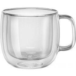Zwilling - Sorrento Plus - 2 szklanki do cappuccino o podwójnych ściankach (pojemność: 0,45 l), 39500-113