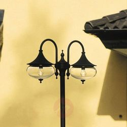 Imponująca latarnia LIBRA 2-punktowa, czarna