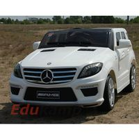Samochód na akumulator mercedes ml63 amg 2x45w, miękkie koła eva, system kontroli rodzicielskiej /dmd168 ma
