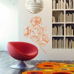 Szablon na ścianę polne kwiaty 2045