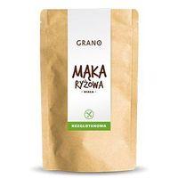 PRZECENA Mąka ryżowa bezglutenowa 500 g Grano