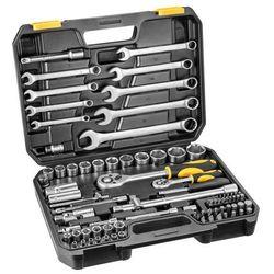 Zestaw kluczy nasadowych 1/4 i 1/2 cala 38d686 (82 elementy) + zamów z dostawą jutro! + darmowy transport! marki Topex