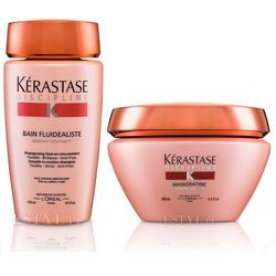 Kerastase Fluidealiste - zestaw dyscyplinujący włosy: szampon + maska 250+200ml - produkt z kategorii- Mycie