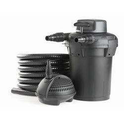 Zestaw filtrujący do oczek wodnych  pondopress 5000,rozmiar zbiornika do: 5000 l, marki Pontec