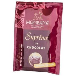 Monbana Supreme Chocolate o waniliowym smaku - saszetka 25g, towar z kategorii: Kakao