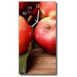 Tulup.pl Zegar szklany pionowy kuchnia jabłko owoc kolorowy