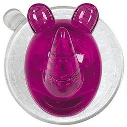 Wieszak Crazy Hooks Ricco Rhino, różowy