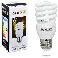 Polux Świetlówka energooszczędna  gold 2 mini 12w e27