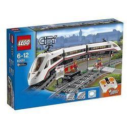 Lego City Superszybki Pociąg Pasażerski 60051, klocki do zabawy