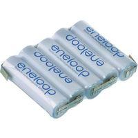 Pakiet akumulatorów aa, nimh  eneloop reihe f1x5, ilość ogniw: 5, 6 v, 1900 mah, z-końcówka do lutowania