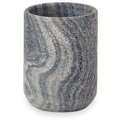 Kubek łazienkowy Aquanova Flint silver grey, FLITUM-95