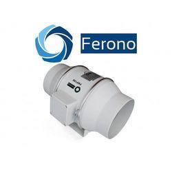 Wentylator kanałowy, plastikowy 150mm, 530 m3/h (fkp150) wyprodukowany przez Ferono