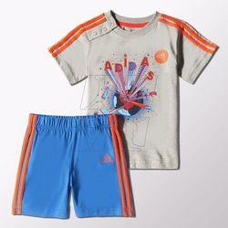 Adidas Komplet  fun summer set kids s21465, kategoria: komplety odzieży dla dzieci
