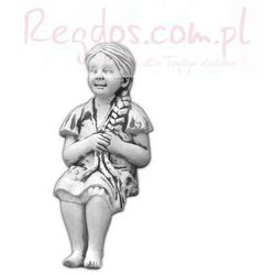 Figura ogrodowa betonowa dziewczynka siadająca 68cm