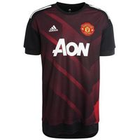 adidas Performance MANCHESTER UNITED HOME Artykuły klubowe real red/black (4058032050483)