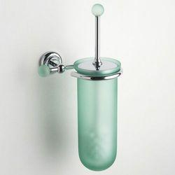 Naścienna szklana szczotka toaletowa Tau