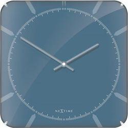 Zegar ścienny 3172 michael square dome 35x35cm marki Nextime