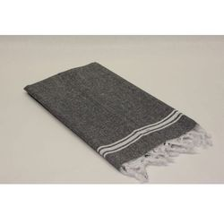 Sauna Łażnia - Hammam Ręcznik 100% Bawełna BAH3 Czerń, 5714-3242C