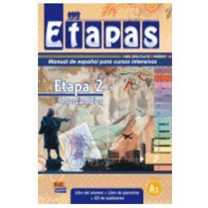 Etapas 2 Podręcznik + ćwiczenia + CD audio, oprawa miękka