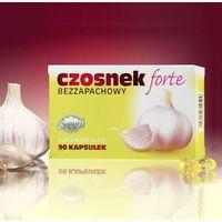Czosnek forte bezzapachowy 90kaps - produkt farmaceutyczny