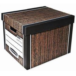 Pojemnik archiwizacyjny Bankers Box Woodgrain, brązowy, 10 szt.
