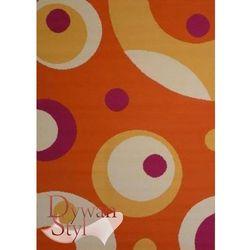 Dywan Flash Space pomarańczowy 077x150 prostokąt