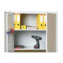 Dodatkowe półki, 920x400 mm, szare, 2 szt marki B2b partner