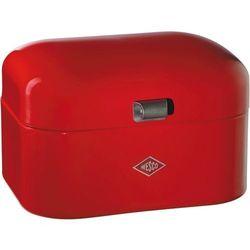 - pojemnik na pieczywo grandy - czerwony - czerwony marki Wesco