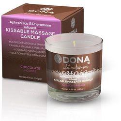 Świeca do masażu - azjatycki i lomi lomi - Dona Kissable Massage Candle Czekoladowa z kategorii Pozostała e
