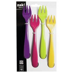 Zak!designs Zak - zestaw widelczyków sweety, 4 el. odbierz rabat 5% na pierwsze zakupy
