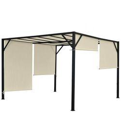 Pawilon ogrodowy baia pergola 4 x 4 dach przesuwny marki Heute wohnen