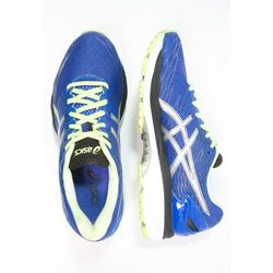 ASICS GELNIMBUS 18 Obuwie do biegania treningowe blue purple/silver/sunny lime (8718833527909)