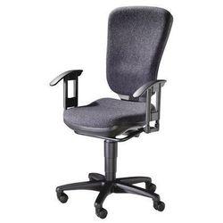 Obrotowe krzesło biurowe, mechanizm stałego kontaktu i wysokie oparcie, siedzisk marki Topstar
