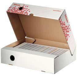 Pudło archiwizacyjne 80mm. otwierane od szerszej strony Esselte Speedbox białe