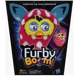 Furby Boom Sunny Różowy w białe kropki - produkt z kategorii- maskotki interaktywne