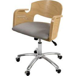 Krzesło vincent obrotowe wood lux marki Drewsystem