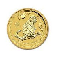 1/10 uncji Australijska Seria Księżycowa Rok Małpy 2016 - Złota Moneta, towar z kategorii: Numizmatyka, fi