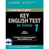 Cambridge Key English Test for Schools 1 Self-study Pack (Student's Book with answers and Audio CD) (2010)
