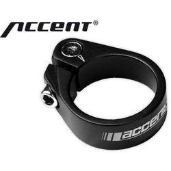 Accent 610-00-58_acc obejma ze śrubą imbusową  light 34.9mm, czarna piaskowana, kategoria: śruby
